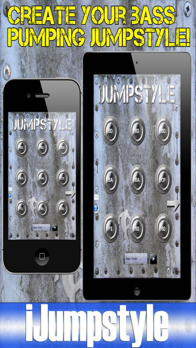 iJumpstyle Lite – Jumpstyle & Hardstyle Music Drum Machine