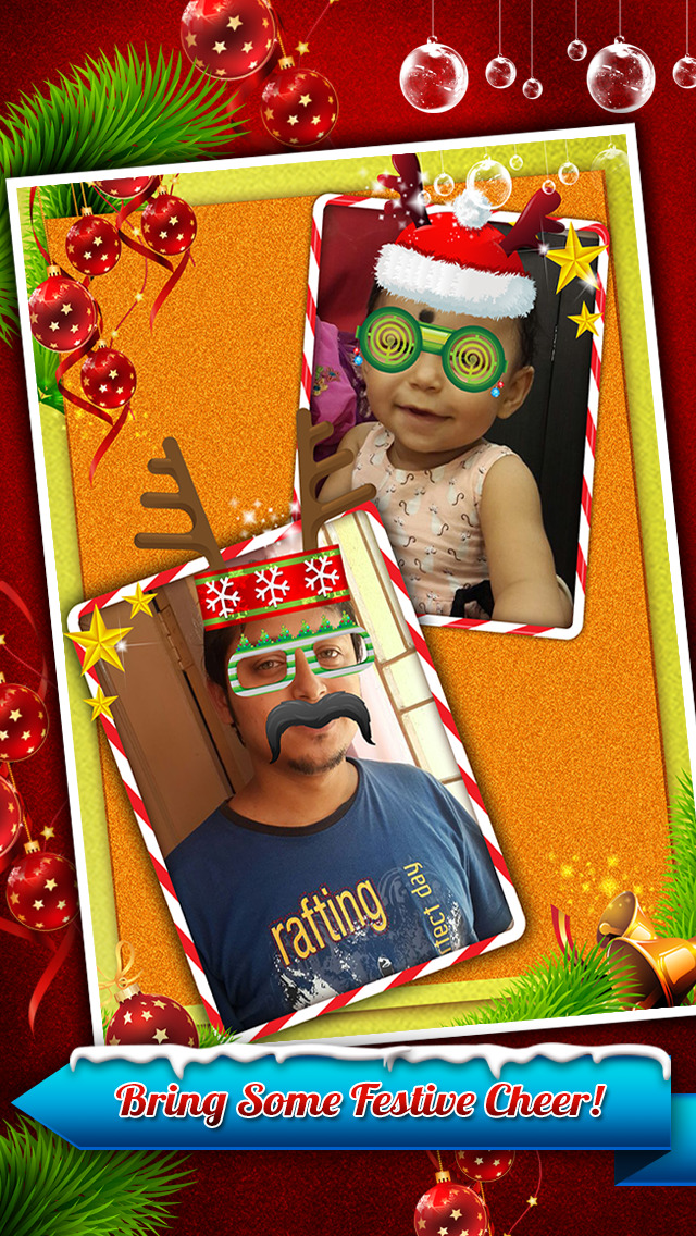 Santa Claus Photo Booth – Festive Merry Christmas Luxury Edition