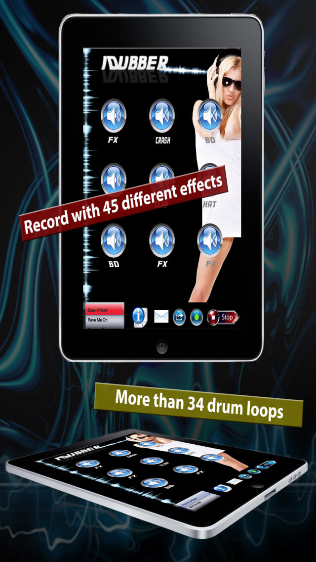 iDubber Lite – The Dubstep Drum Machine