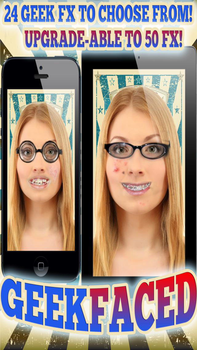GeekFaced – The Geek & Nerd Photo FX Face Booth